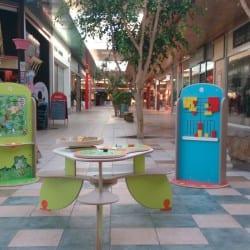 aire de jeux intérieur dans un magasin