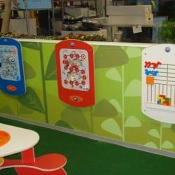 jeux pour enfants dans une jardinirie