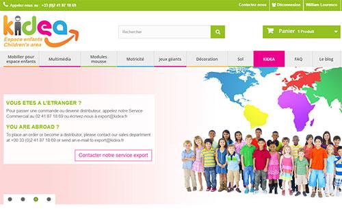 KIDEA lance son site e-commerce