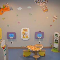 aménagement espace enfants dans un centre commercial