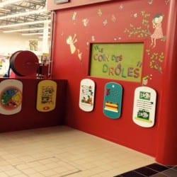 structure de jeux dans un centre commercial