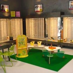 aménagement d'espaces pour enfants chez un opticien