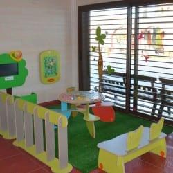 parc de jeux pour enfants dans un restaurant