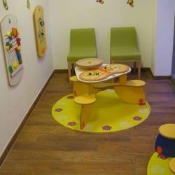 espace enfants chez un médecin