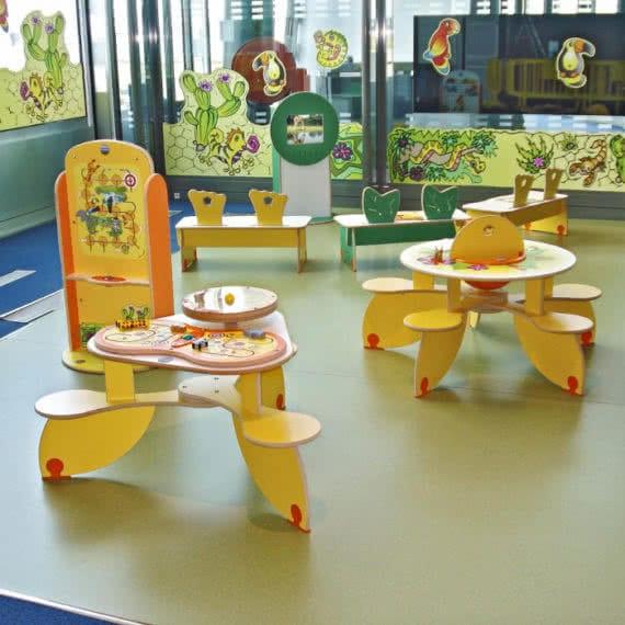 Espace enfants aéroport