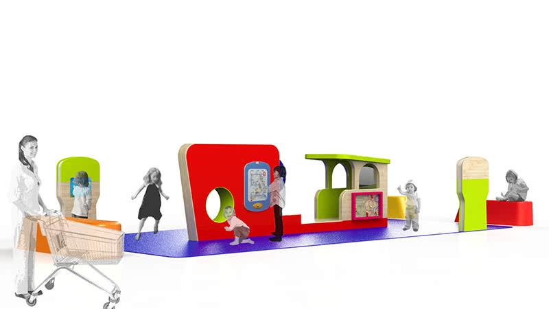 Visuel 3D espace enfant