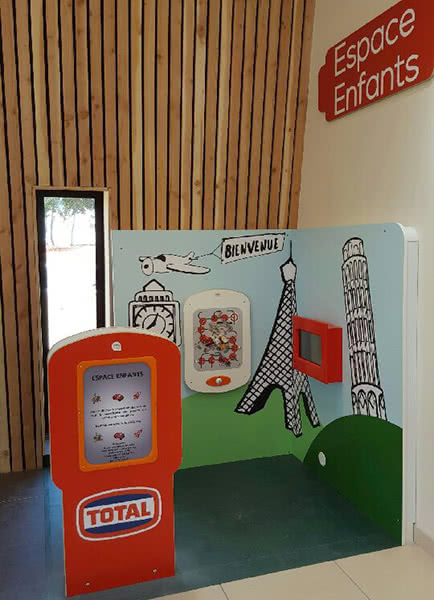structure pour enfant